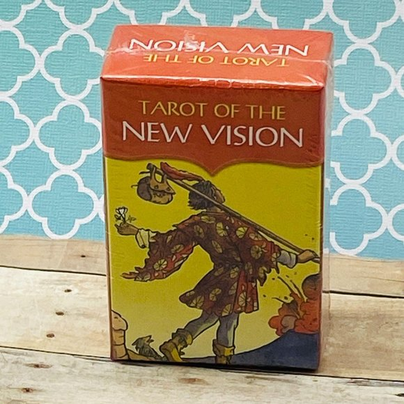 Tarot of the New Vision Wiccan Pagan Metaphysical